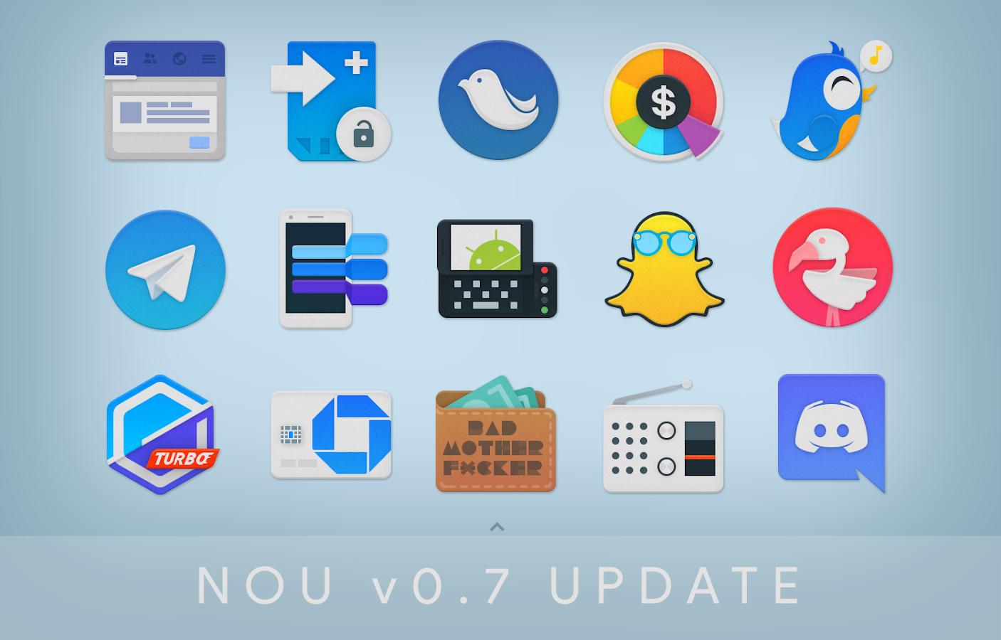 NOU - Icon Pack Screenshot 3