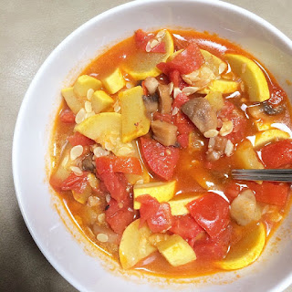 Tomato and Summer Squash Stew