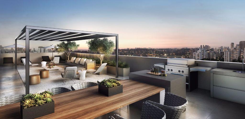 Perspectiva do Terraço Duplex da Unidade de 314 m²