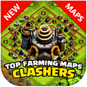 TOP Farming Maps Clash Clans