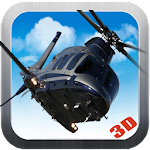 Gunship Helicopter War Icon