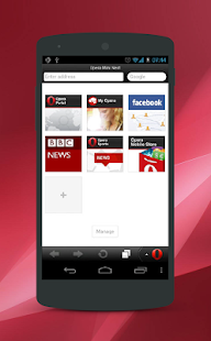 App Tips Opera Mini Browser APK for Kindle