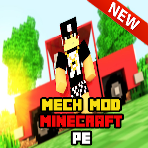 Download New Mech Mod Minecraft PE For PC Windows and Mac