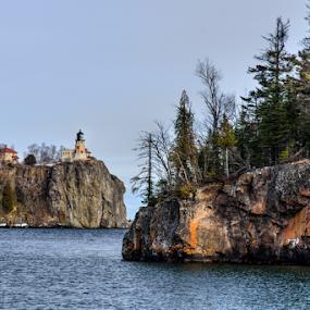 Split Rock Lightbouse by Jill Beim - Landscapes Waterscapes ( lake superior, split rock lighthouse, landscapes )