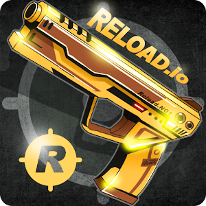 Real-time multiplay io action game !  Reload . io !! APK Icon