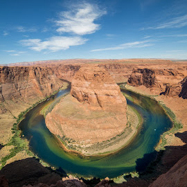 Horseshoe bend by Casey Bebernes - Landscapes Deserts