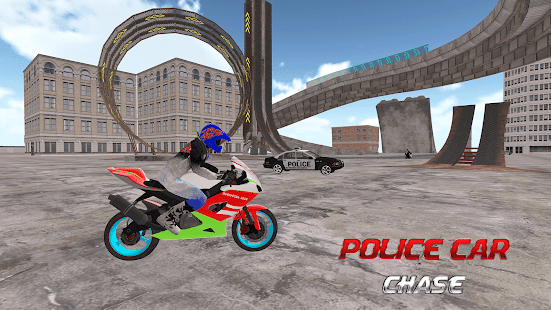 Impossible Bike Attack: Cop Car City Police Chase