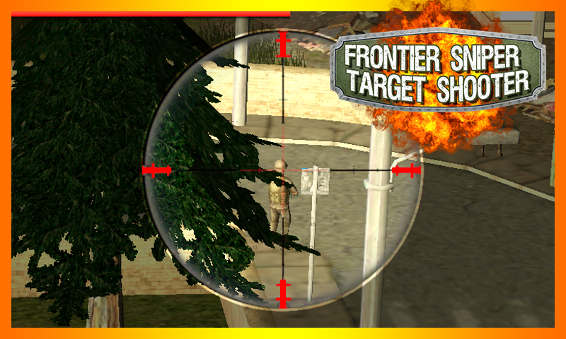 android Frontier Sniper Target Shooter Screenshot 0