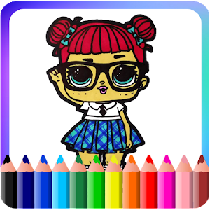 How To Color Lol Surprise Doll (New edition) For PC