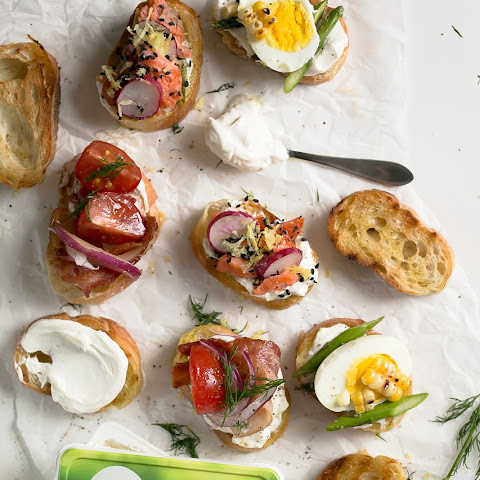 3 Summer Crostini Recipes