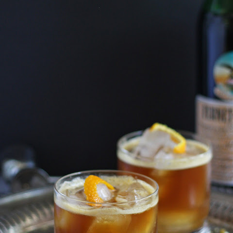 Orange Italian Mule - Fernet Braca Cocktail