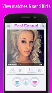 Fast Casual Hookup Dating App - screenshot