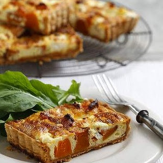Pumpkin And Goat's Cheese Tart