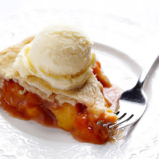 Peach Bourbon Pie