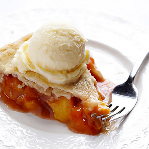 Tequila Peach Pie Recipe — Dishmaps