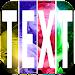 Text On Photos Icon