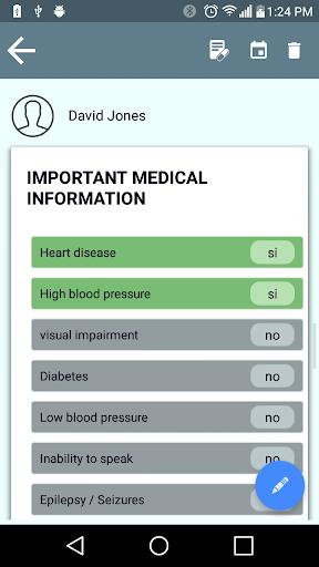 Medical Agenda - screenshot