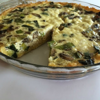 ... swiss chard tart goat cheese leek and mushroom tomato and goat cheese