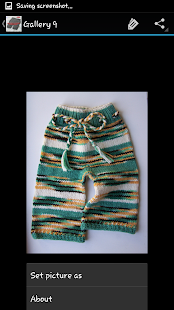 Crochet Pattern Kids Pants - screenshot