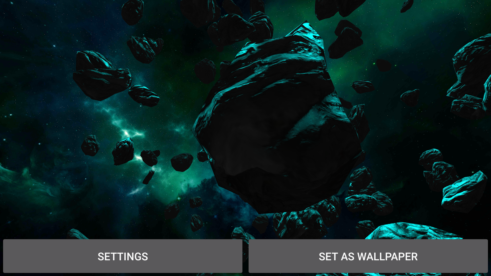 3D Galaxy Pack Live Wallpaper Screenshot 16
