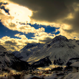 lech am arlberg  by Michal Valenta - Digital Art Places