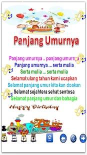 Indonesian children song- screenshot thumbnail