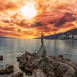 Opatija by Stanislav Horacek - Landscapes Sunsets & Sunrises