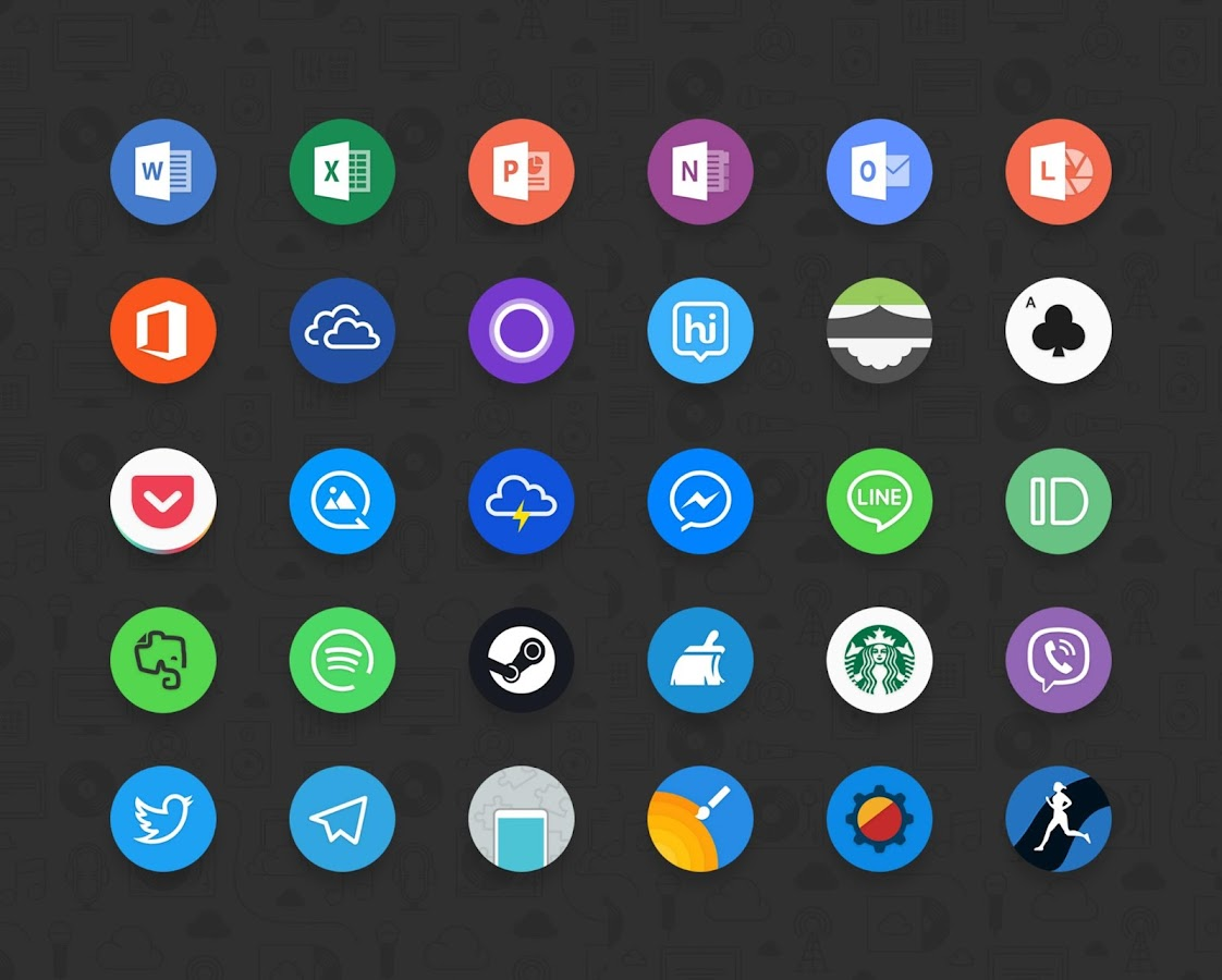Delux UX Pixel - S8 Icon pack Screenshot 10