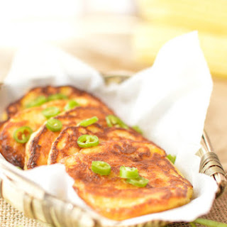 Pan-Fried Chinese Corn Cakes - YuMi BaBa