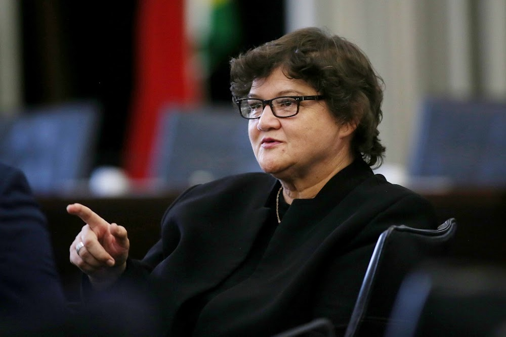 Lynne Brown insists that she was not responsible for misleading Parliament about Eskom