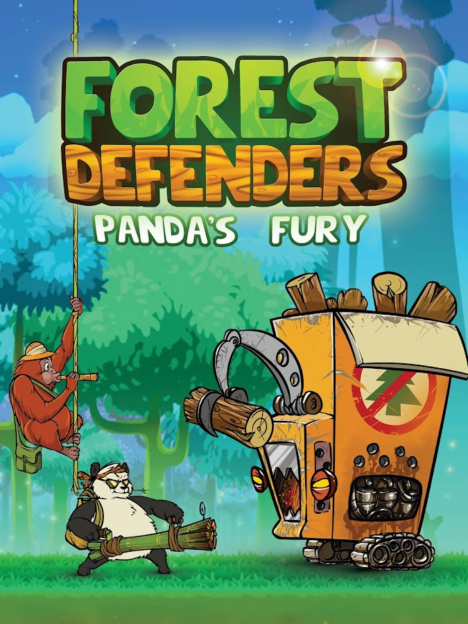 Forest Defenders: Panda's Fury Screenshot 3