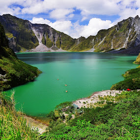 Mt. Pinatubo by Fresco Jr Linga - Landscapes Mountains & Hills