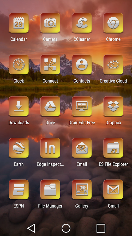 Bacca - Icon Pack Screenshot 2