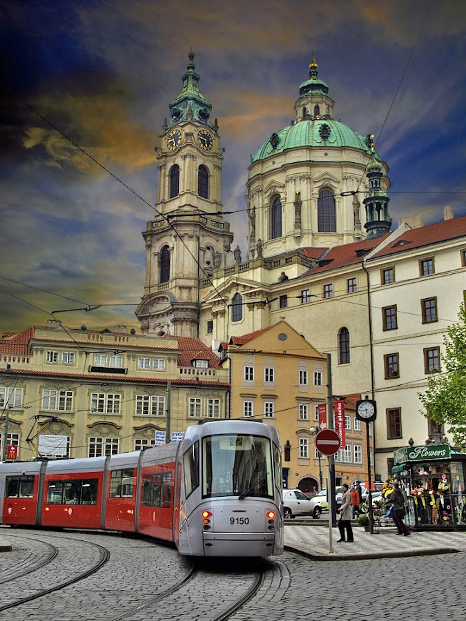Prague by Khaled Ibrahim - City,  Street & Park  Street Scenes