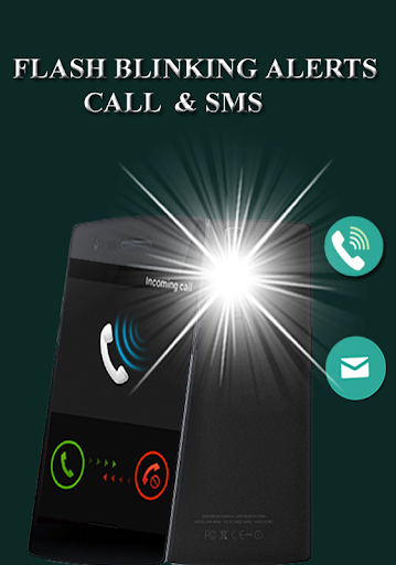 Flash Blinking Alerts : Call & SMS screenshot 1