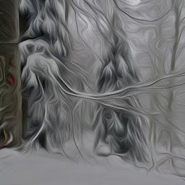....i , kada realnost postane imaginarnost.... by Katica Pecigoš-Kljuković - Digital Art Places