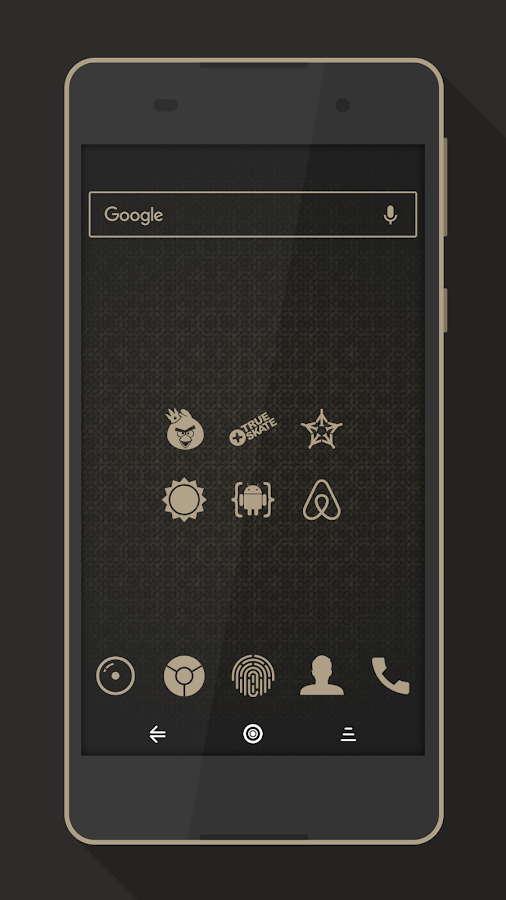 Rest - Icon Pack Screenshot 1