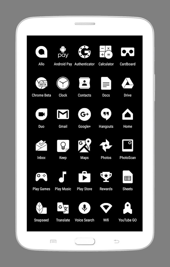 Whicons - White Icon Pack Screenshot 6