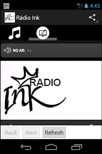 Rádio Ink - screenshot