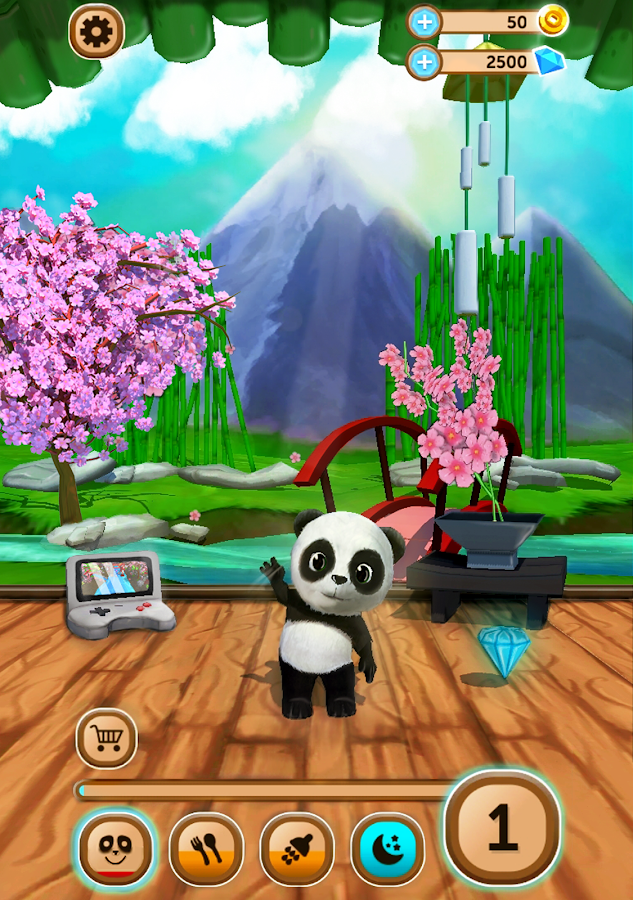 Daily Panda : virtual pet Screenshot 11