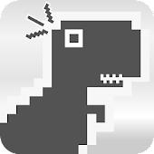 APK Game Chrome Dino Run for BB, BlackBerry