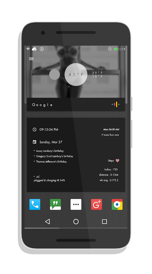 X Cards V2 for KLWP Screenshot 4