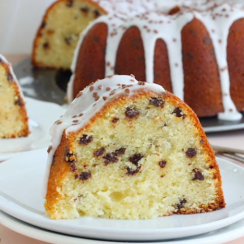 Chocolate Chip Amaretto Cake