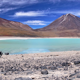by Nico Kranenburg - Landscapes Travel ( water, mountains, green, south america, lake, bolivia, landscape )