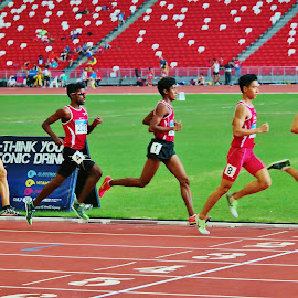 Track Race by Koh Chip Whye - Sports & Fitness Other Sports (  )