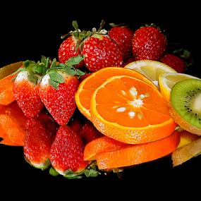 citrus with strawberry by LADOCKi Elvira - Food & Drink Fruits & Vegetables ( citrus )