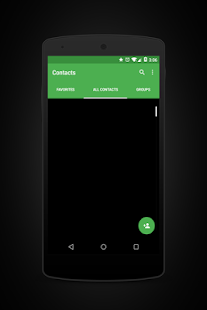 Prime Green Black Layers Theme - screenshot