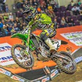 Arenacross by Thomas Dilworth - Sports & Fitness Motorsports ( racing, moto, dirtbike, motorcycle, arenacross )