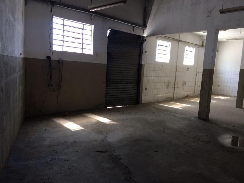 Galpão comercial para locação, Jardim Jacinto, Jacareí.