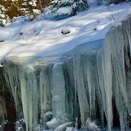 Blue icicles... by Debbie Squier-Bernst - Instagram & Mobile iPhone